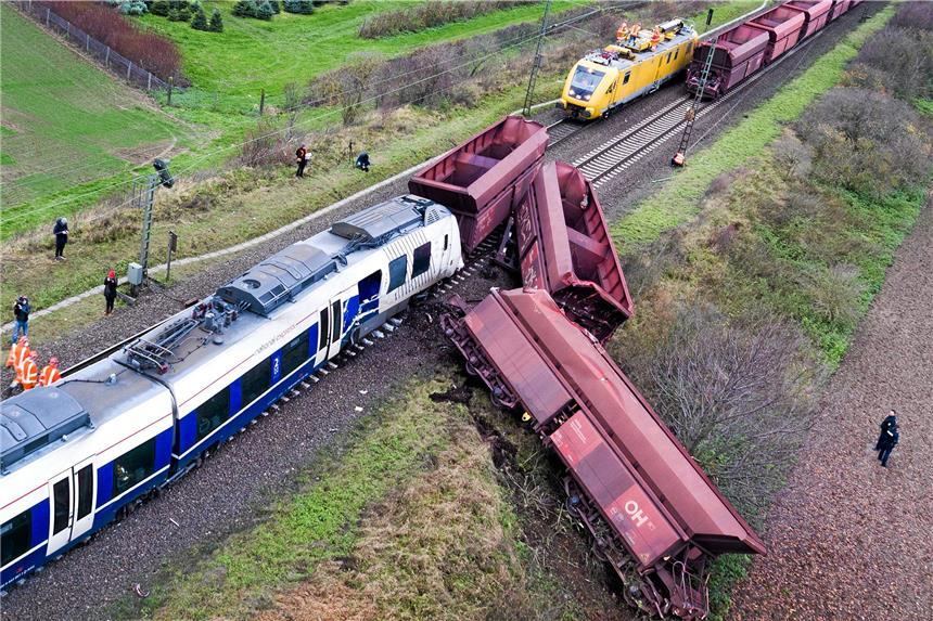 Regionalbahn war wohl auf falschem Gleis unterwegs