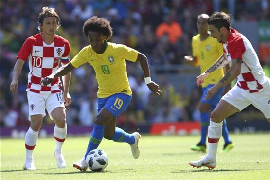 Medien: Manchester United will Brasilianer Willian holen