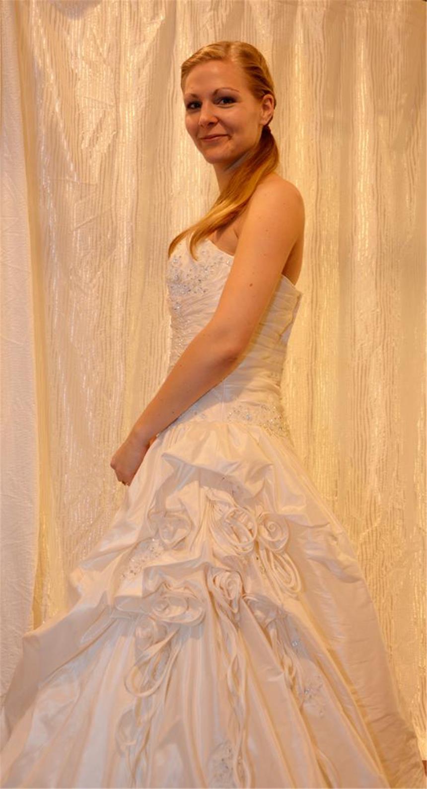 Karin Körber suchte ihr Kleid für die Traumhochzeit