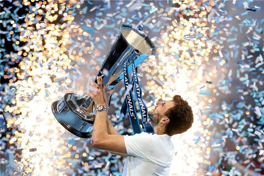 Tennis-Weltmeister! Bulgare Dimitrow dankt Freundin Nicole Scherzinger