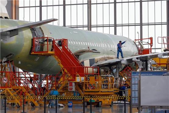 Airbus baut A320-Produktion in China aus