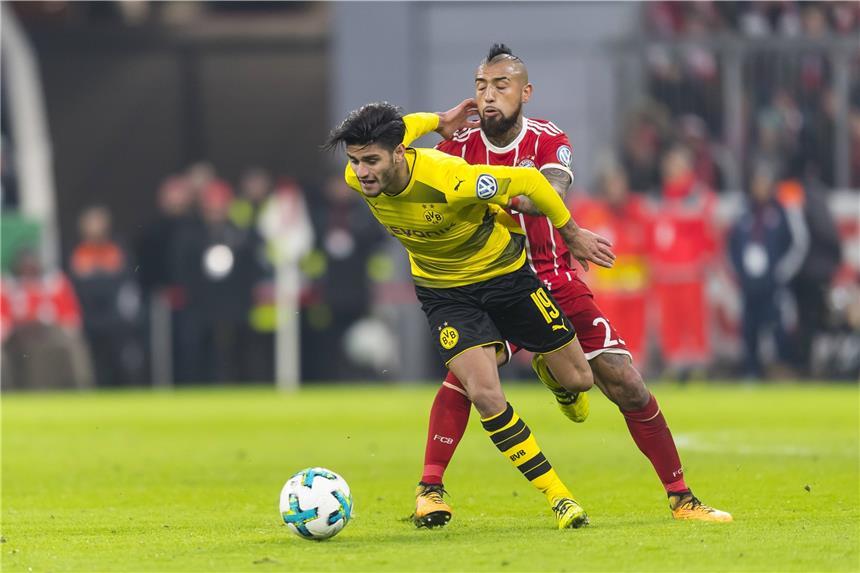 Fußball: Pokalhit zwischen Bayern und Dortmund