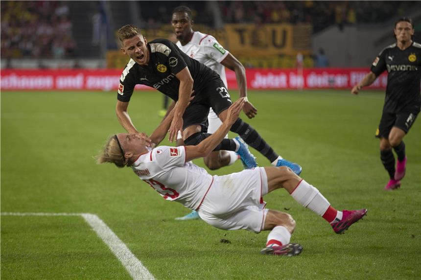 Thorgan Hazard Verletzt