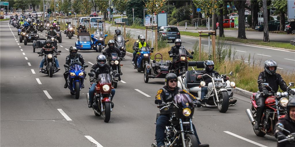 Motorrad Demo Dortmund