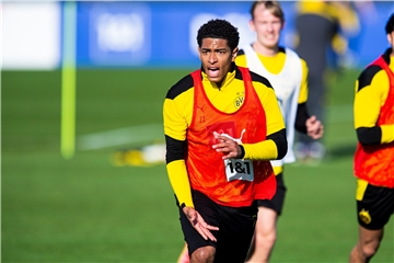 BVB-Youngster Jude Bellingham beim Training.