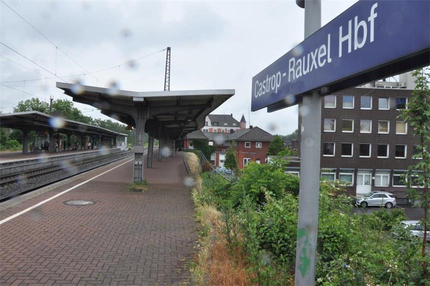 Hauptbahnhof Castrop Rauxel Wird Gesperrt