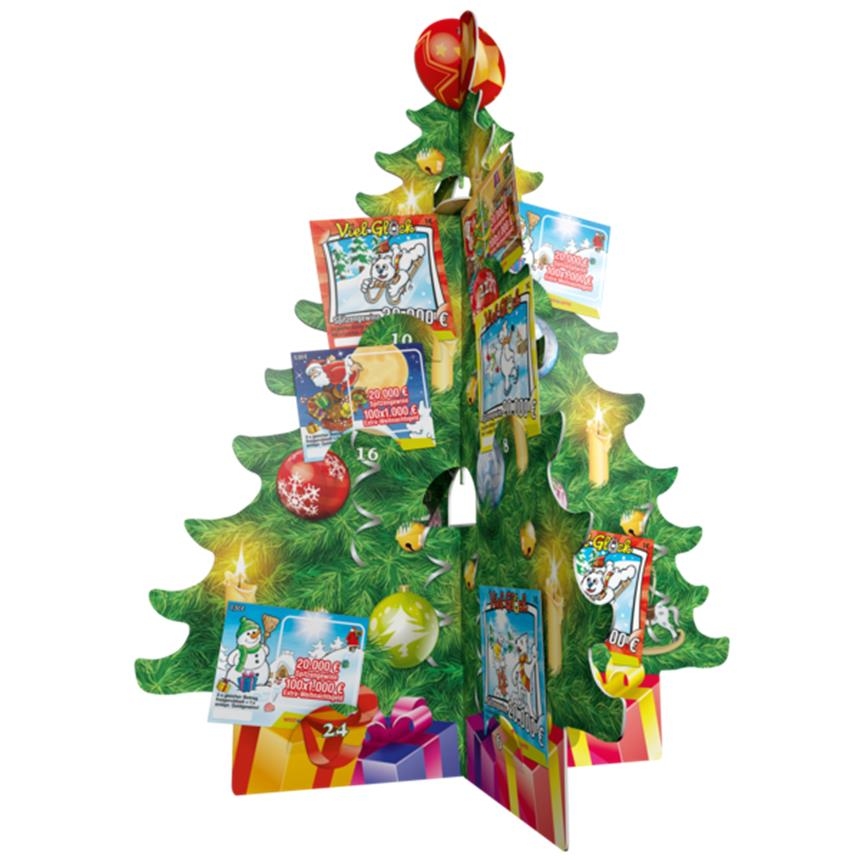 Weihnachtskalender Rubbellose.Träume Verschenken Mit Dem Rubbellos Adventskalender