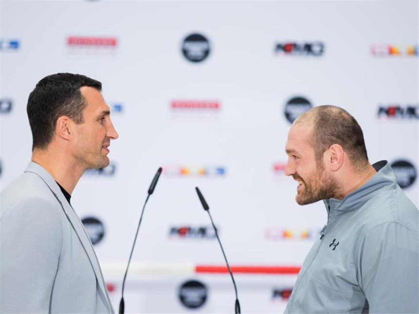 Klitschko Fury Termin