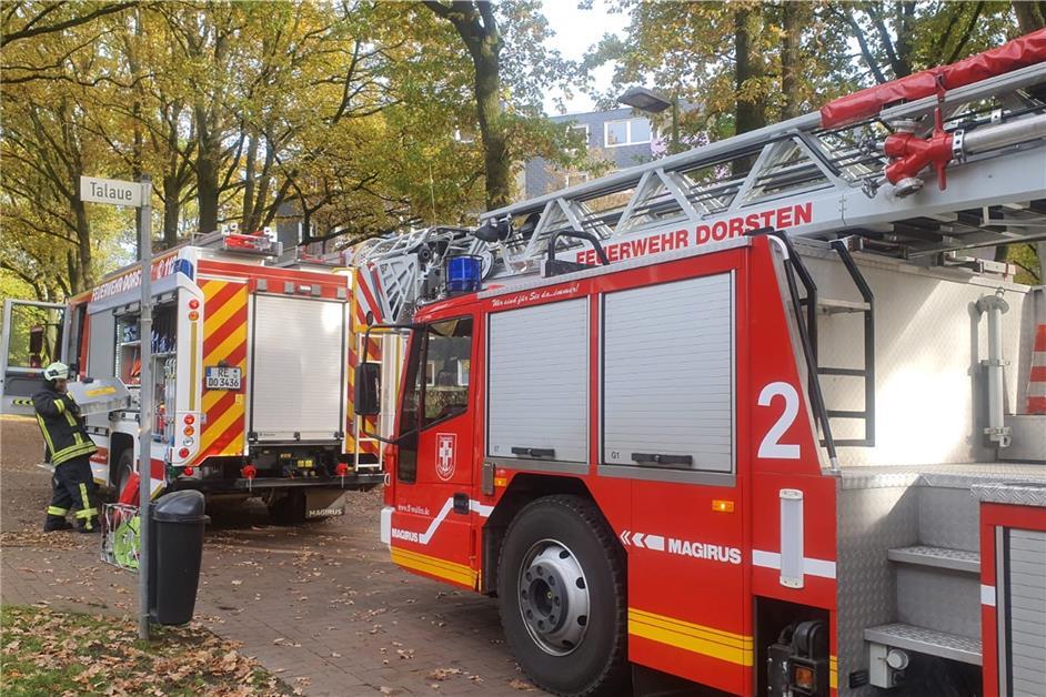 Küchenbrand im Mehrfamilienhaus - Nachbarn verhinderten Schlimmeres - Dorstener Zeitung