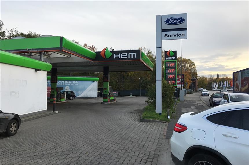 Hem Tankstelle Sengenthal