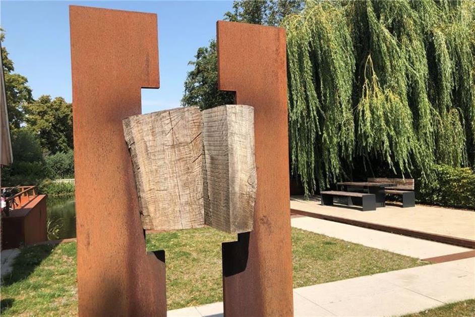 Skulpturen aus Holz und Stahl am Schloss und im Ortskern geplant - Dorstener Zeitung