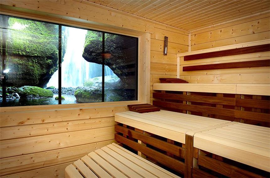 Pärchen Sauna