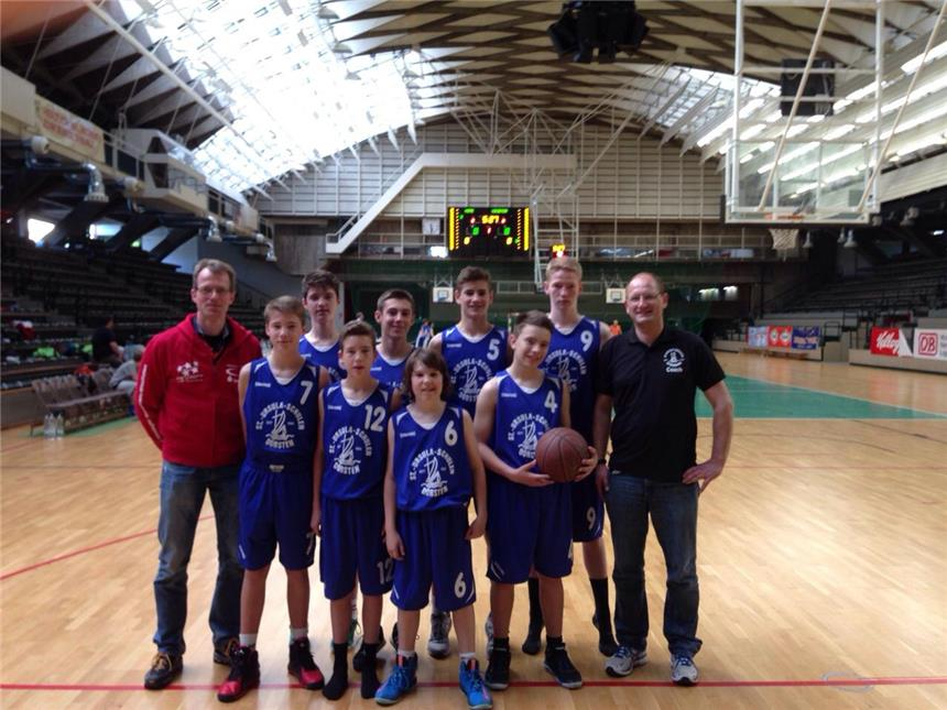 St.-Ursula-Basketballer holen Bronze