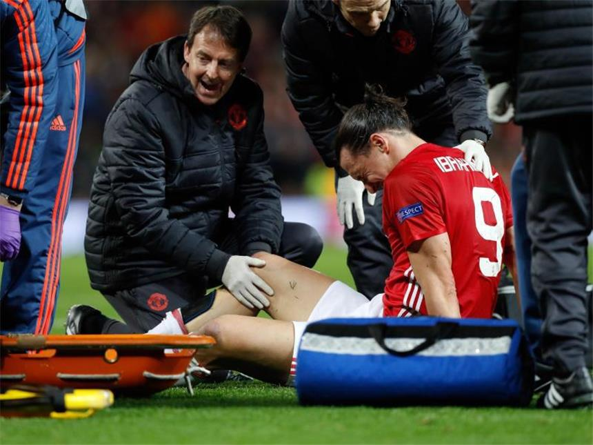 Zlatan Ibrahimovic Verletzung